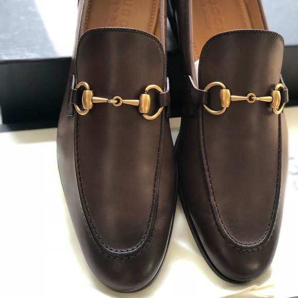 6fc707ce0ed 🎁Authentic Gucci Jordaan Leather Loafer NEW ⬇️